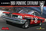 Moebius 1221 1961 Pontiac Catalina NASCAR Model Car Kit  from Moebius