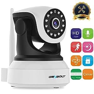 Wireless Wifi Ip Security Camera Genbolt Pan Tilt Spy