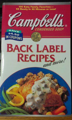 Campbell's Condensed Soup Black Label Recipes and More!