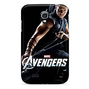 Excellent Cell-phone Hard Covers For Samsung Galaxy S4 With Custom High Resolution The Avengers Hawkeye Pattern IanJoeyPatricia