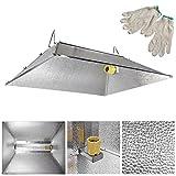 Cheap 35×29″ Indoor Grow Light Reflector Hood For 250w 400w 600w 1000 watt HPS MH Tent
