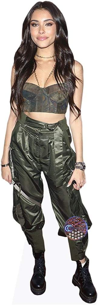 Standee. Cardboard Cutout mini size Green Outfit Madison Beer