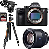 Sony a7R III 42.4MP Full-Frame Mirrorless Interchangeable Lens Camera + Batis 85mm f/1.8 Lens Bundle For Sale