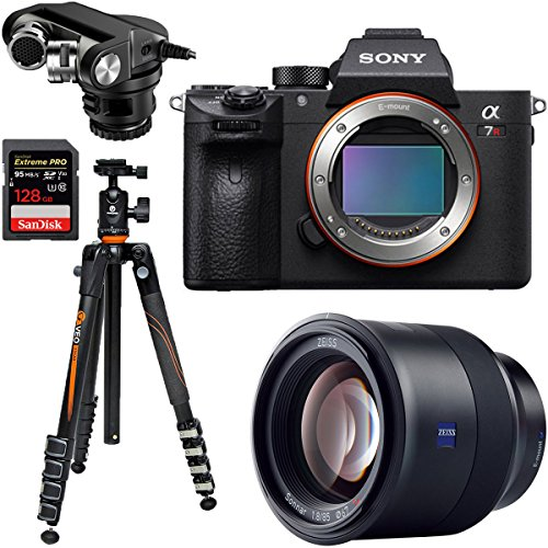 Sony a7R III 42.4MP Full-Frame Mirrorless Interchangeable Lens Camera + Batis 85mm f/1.8 Lens Bundle