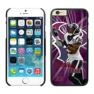 NFL Houston Texans Glover Quin iPhone 6 Cases Black 4.7 Inches NFLIphone6Cases13139