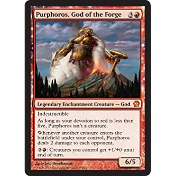 Magic: the Gathering - Purphoros, God of the Forge (135/249) - Theros