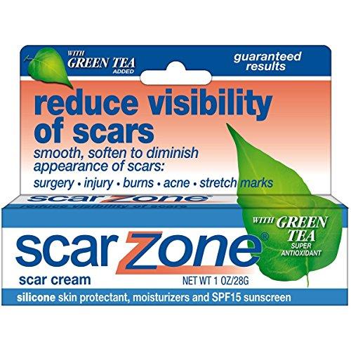 Sudden Change Scar Scar Zone topique Effet de crème, avec du thé vert Ajouté 1 oz (28 g)