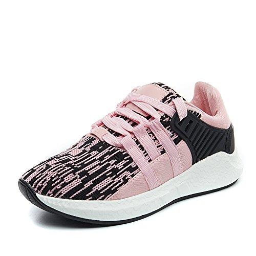 Femminile Traspiranti Casual Ngrdx amp;g Studenti Sportive Maglia Da Pink Corsa Scarpe YSwfTqY