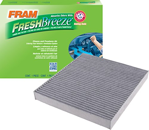 FRAM CF11183 Fresh Breeze Cabin Air Filter with Arm & Hammer