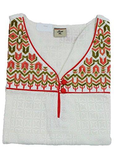GUGGI - Camiseta de manga larga - para mujer Rosso