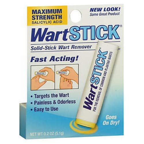 Wart Stick Solid-Stick Remover Maximum Strength, 0.2 oz (Pack of 6)