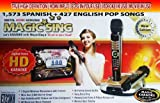 MagicSing ET-23KH HD Wireless Microphone Karaoke System - Spanish Edition 2000 Songs