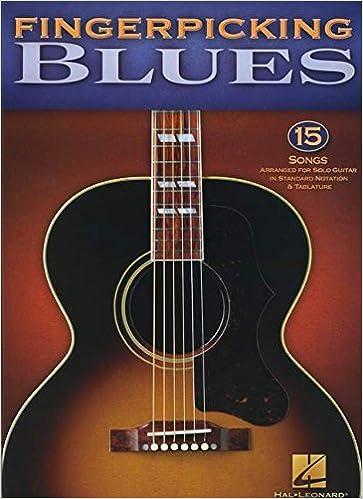 Amazon com: Fingerpicking Blues: 15 Songs Arranged for Solo