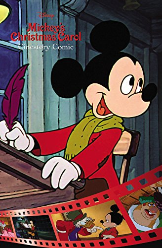 Disney Mickey's Christmas Carol Cinestory Comic