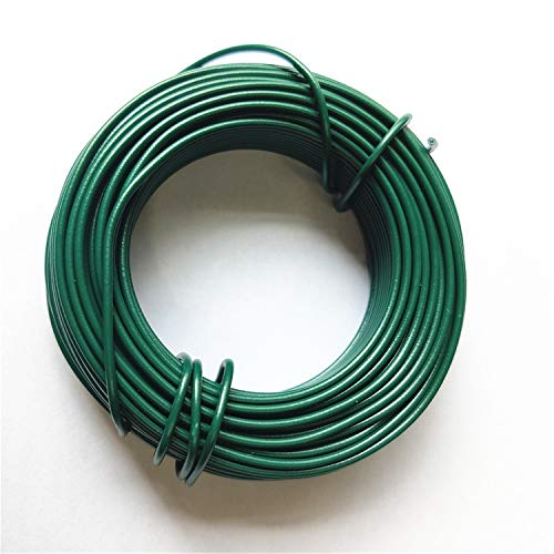 (VIMOA Garden Twine Bonsai Training Wire 65 Feet 2mm Garden Twist Tie for Tomato Plants, Climbing Roses, Vines, Cucumbers, Squash and Wrapping)