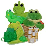 Bath Time with Froggy Baby Spa Gift Basket – Small For Sale