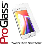 tzumi ProGlass Screen Protector for iPhone 6 7 8  Premium High Definition Tempered Glass with Easy Application and Cleaning Kit For High-Definition Clarity, Screen Protection And Scratch-Resistance