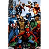Marvel Heroes Poster Amazing Collage Rare Hot New