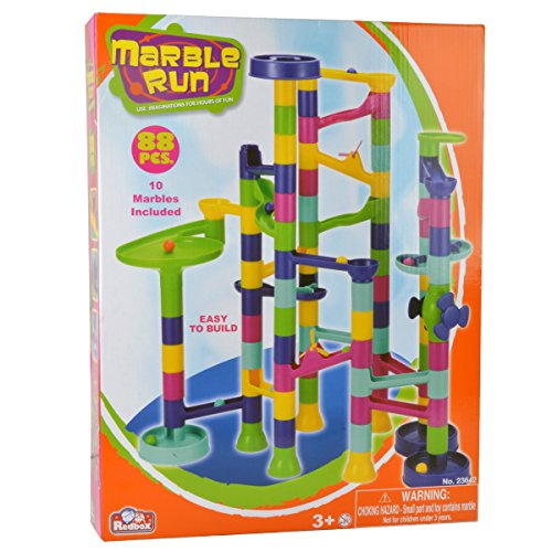 Construction Building Sets: 88 pcs Super Marble Run