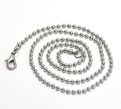"It's All About...You! 21.6"" 2.4mm Stainless Steel Ball Chain with Clasp Necklace Cowgirl Horse Boot Horseshoe Hat 10A"