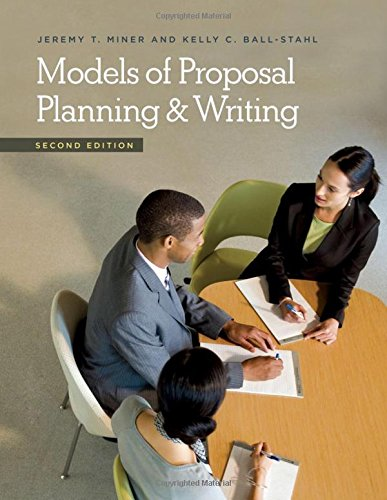 Models Of Proposal Planning & Writing, 2nd Edition