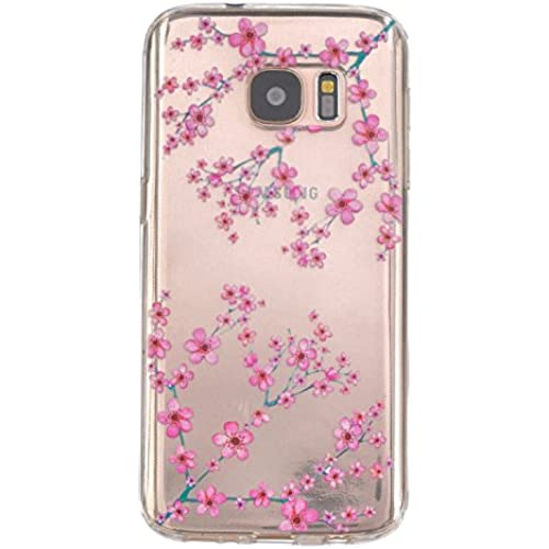 S7 Case, Cover For Samsung Galaxy S7 Neo Flower Printing Soft Silicone TPU Back Covers for Samsung Galaxy S7 Shell Sales