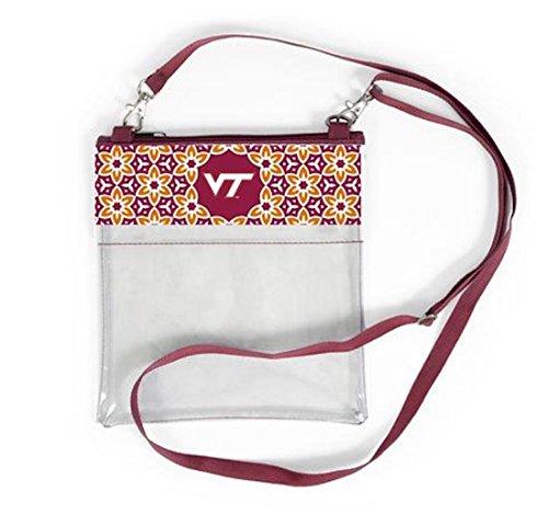 Desden Virginia Tech Hokies Clear Gameday Crossbody Bag by Desden (Image #1)