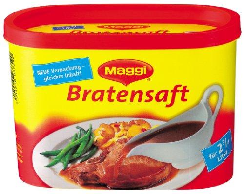 Maggi Roast Juice (Bratensaft) Gravy, can by Maggi