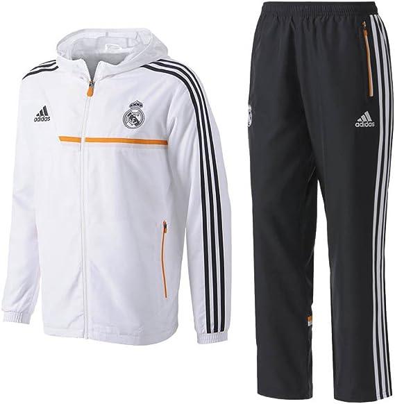 adidas Chándal Real Madrid Presentación 2013-14: Amazon.es ...
