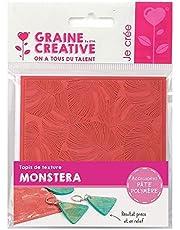 Texture mat for Polymer Paste - Monstera