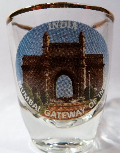 India Mumbai Gateway of India Shot Glass