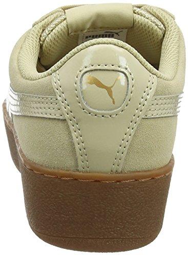 Puma Piattaforma Damen Vikky Sneaker Beige (ghiaia)