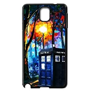 Customized Dual-Protective Case for Samsung Galaxy Note 3 N9000, Doctor Who Cover Case -540283