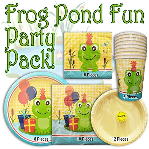 frog party supplies - 1