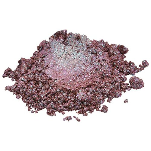 Chameleon/Pink / Dark Red/Plum Luxury Mica Colorant Pigment Powder by H&B Oils Center Cosmetic Grade Glitter Eyeshadow Effects for Soap Candle Nail Polish 1 oz ()