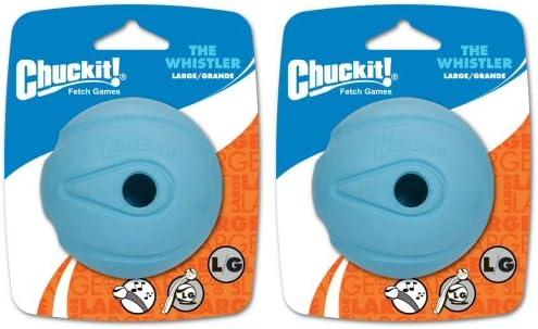 Chuckit Whistler Ball Large 2pk