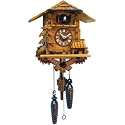 Alexander Taron Importer 437QM Battery Operated Black Forest Cuckoo Clock