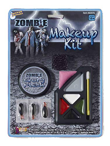 Forum Novelties Unisex Adult F65976 Costume Zombie Make-Up Kit, One Size, Multicolor - http://coolthings.us