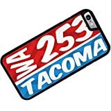 Rubber Case for iphone 6 253 Tacoma, WA red/blue - Neonblond