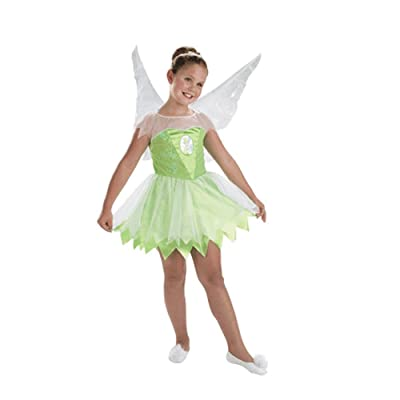 Kid's Disney Tinkerbell Costume (Size: Small 4-6): Toys & Games