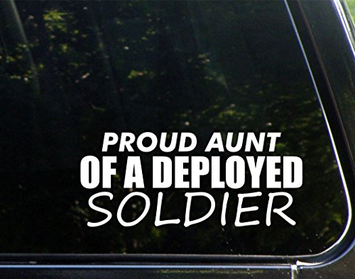 Proud Aunt Of A Deployed Soldier (8-3/4