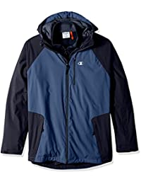 Champion mens tall Technical Ripstop With Fleece Inner Shell Jacket - Tall Sizes