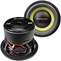 American Bass Godfather GF1211 12 400 oz Magnet 4 Voice Coil Dual 1 ohm