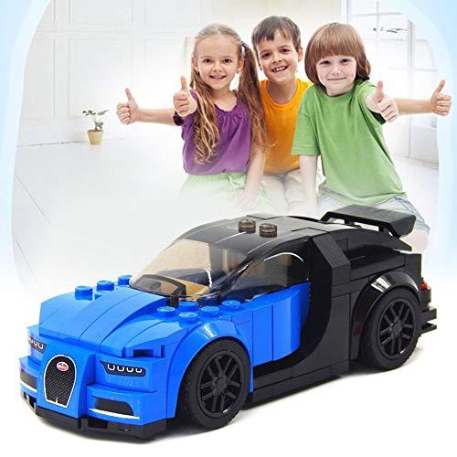 CLKjdz DIY Building Block Toys for Bugatti Racing Car Assembled Model Puzzle Toys