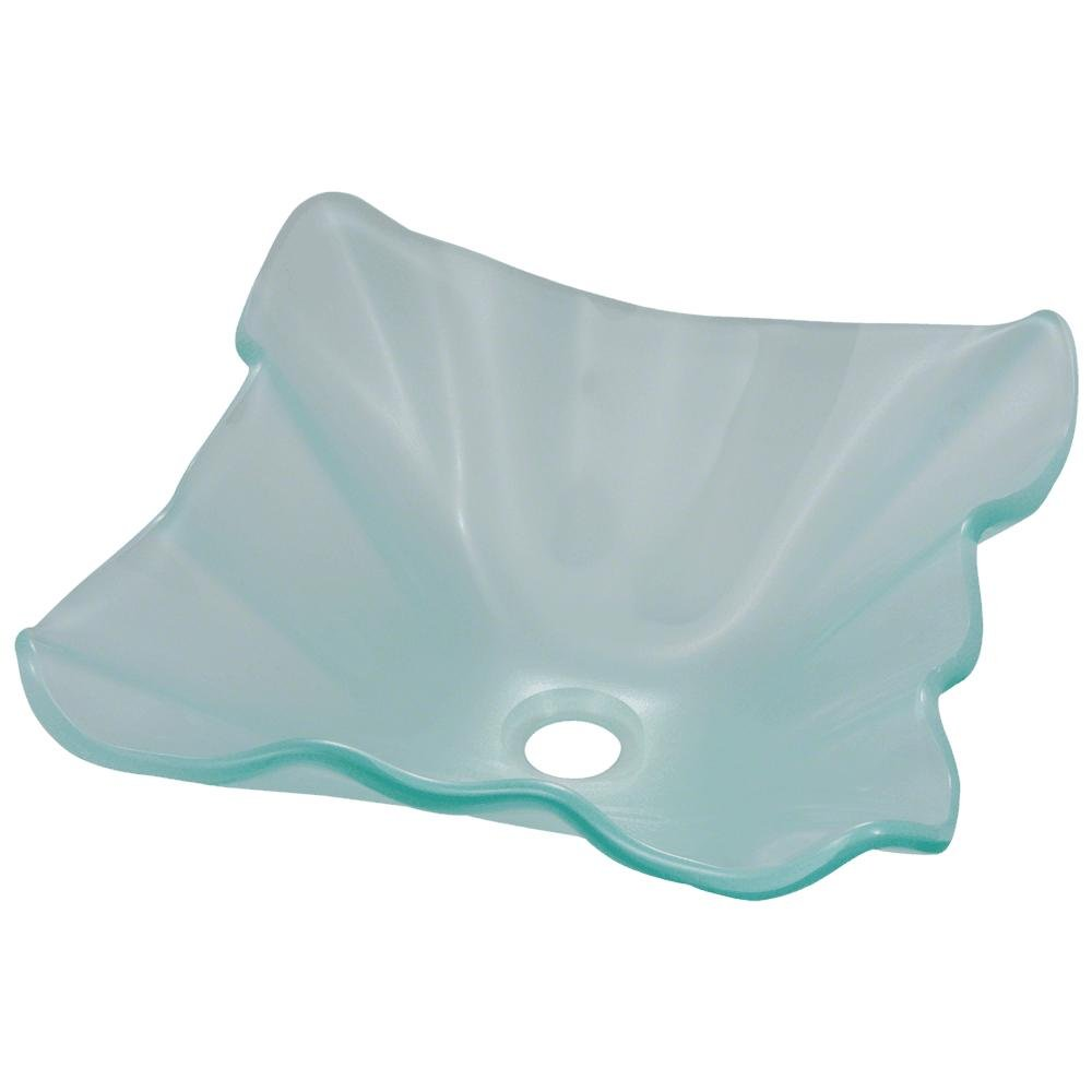 611 Frosted Glass Vessel Sink