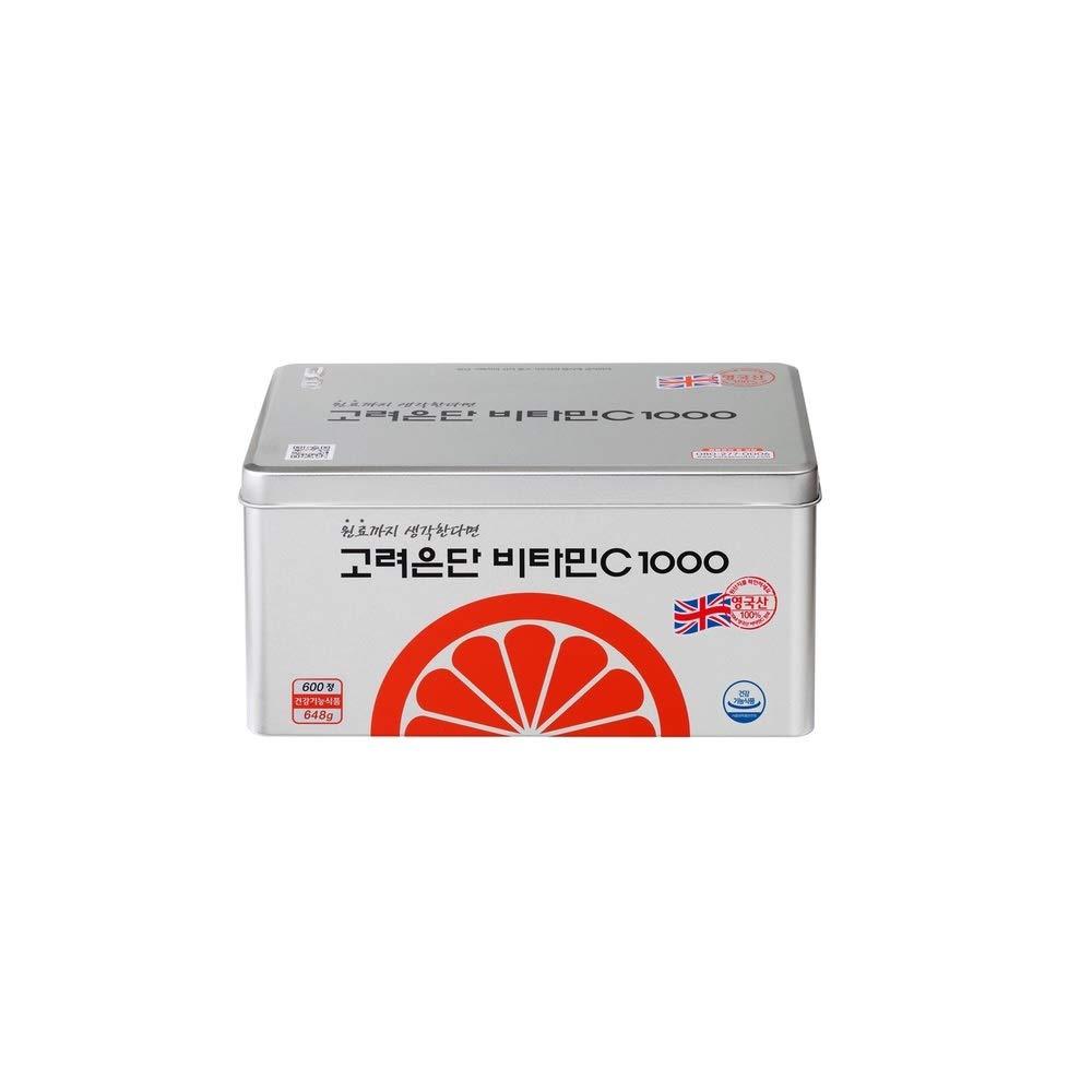 KOREA EUNDAN Vitamin C 1000 600T x 1000mg 100% British DSM Supplement UK