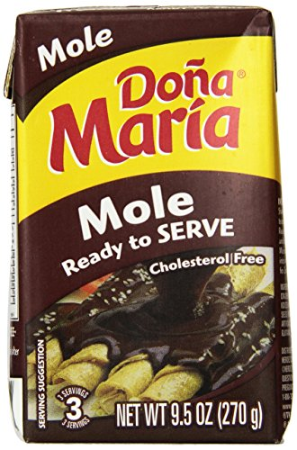 Dona Maria Ready To Serve Mole, 9.5-Ounce (Pack of 9) ()