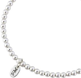 382722649f52f Initial 'J' Letter Charm Sterling Silver Beaded Bracelet