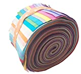 Jelly Roll Fabric, Roll Up Cotton Fabric Quilting
