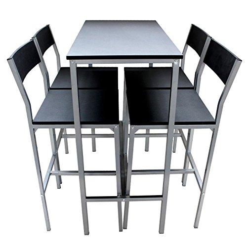 set tavolo e 4 sgabelli arredamento cucina sala soggiorno tavoli bar set rimini amazonit casa e cucina